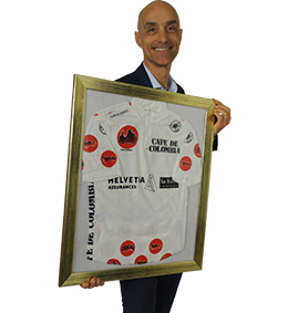 Mauro Gianetti maglia a pois