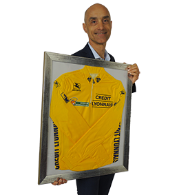 Mauro Gianetti maglia gialla